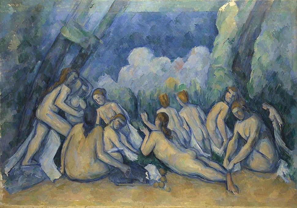 Paul C%C3%A9zanne - Bathers (Les Grandes Baigneuses) - Google Art Project