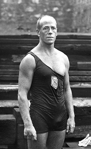 Water polo at the 1900 Summer Olympics - Paul Vasseur, pictured in 1920, was also on the Libellule de Paris squad.