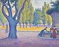 Paul signac saint-tropez fontaine des lices.jpg