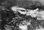 Pearl harbor attack Japanese recon photo of battleship row 80G30552.jpg