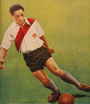 Adolfo Pedernera - A young Pedernera in 1937.