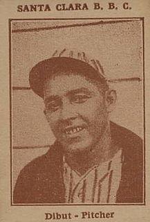 Pedro Dibut Cuban baseball player