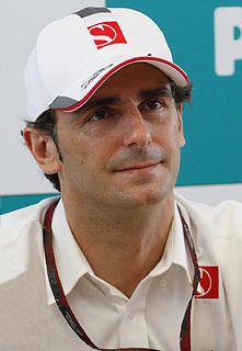 Pedro de la Rosa Spanish racing driver