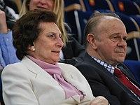 Pedros Cup 2015 Łódź, Irena i Janusz Szewińscy.jpg