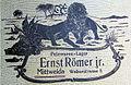 Pelzwaren-Lager Ernst Römer jr., Mittweida. Nach 1900.jpg