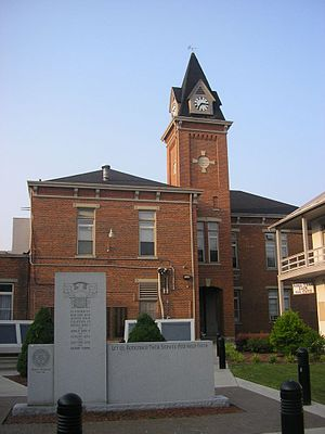 Pendleton County, Kentucky - Image: Pendleton County, Kentucky Courthouse