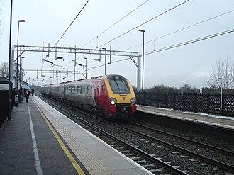 Penkridge railway station - Penkridge station, 10 February 2007