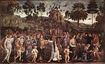 Perugino, Pietro - Moses's Journey into Egypt and the Circumcision of His Son Eliez - c. 1482.jpg