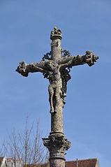croix de cimetière de Pesmes