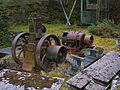 Petter hot-bulb engine and generator, Laigh Dalmore Quarry, Stair.jpg