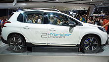 peugeot 2008 hybrid airhydraulic concept car