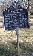 Pewee Valley Confederate Cemetery 010