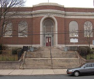Carroll Park, Philadelphia - Haddington Branch Library in Carroll Park