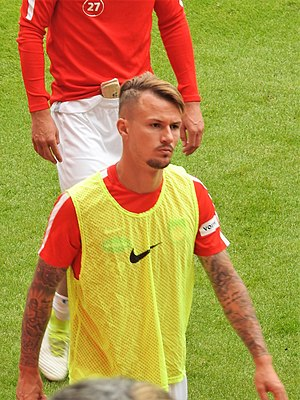 Ronny Philp - Philp with 1. FC Heidenheim in 2017