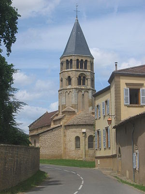Church of Chânes (French village)