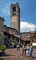 Piazza Vecchia and Campanone. Bergamo, Italy.jpg