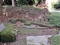 Piazza fanti, resti dell'agger delle mura serviane 02.JPG