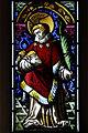 Picswiss BE-94-06 Bemaltes Glasfenster in der Kirche von Würzbrunnen (Röthenbach).jpg
