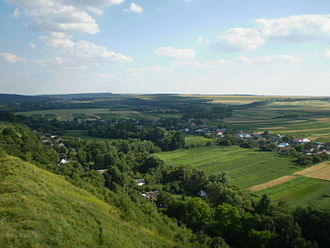 Terebovlia - Landscape around Terebovlia