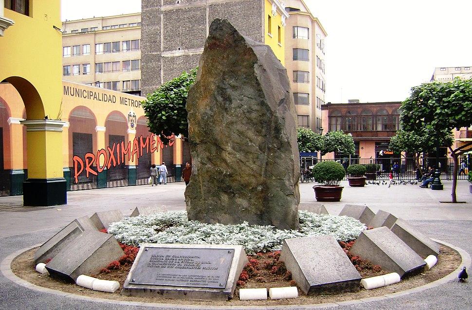 Piedra basal andina