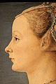Piero del pollaiolo, ritratto di giovane donna, 1470-75 ca. (poldi pezzoli) 04.JPG