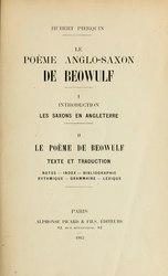 Le Poème anglo-saxon de Beowulf