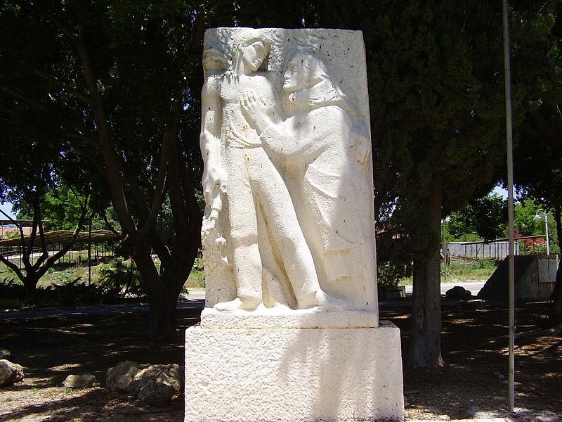 אנדרטה בבאר טוביה לנופלים במלחמת העצמאות
