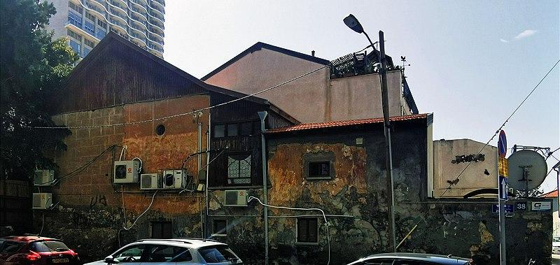 הבית בפינס 38 תל אביב