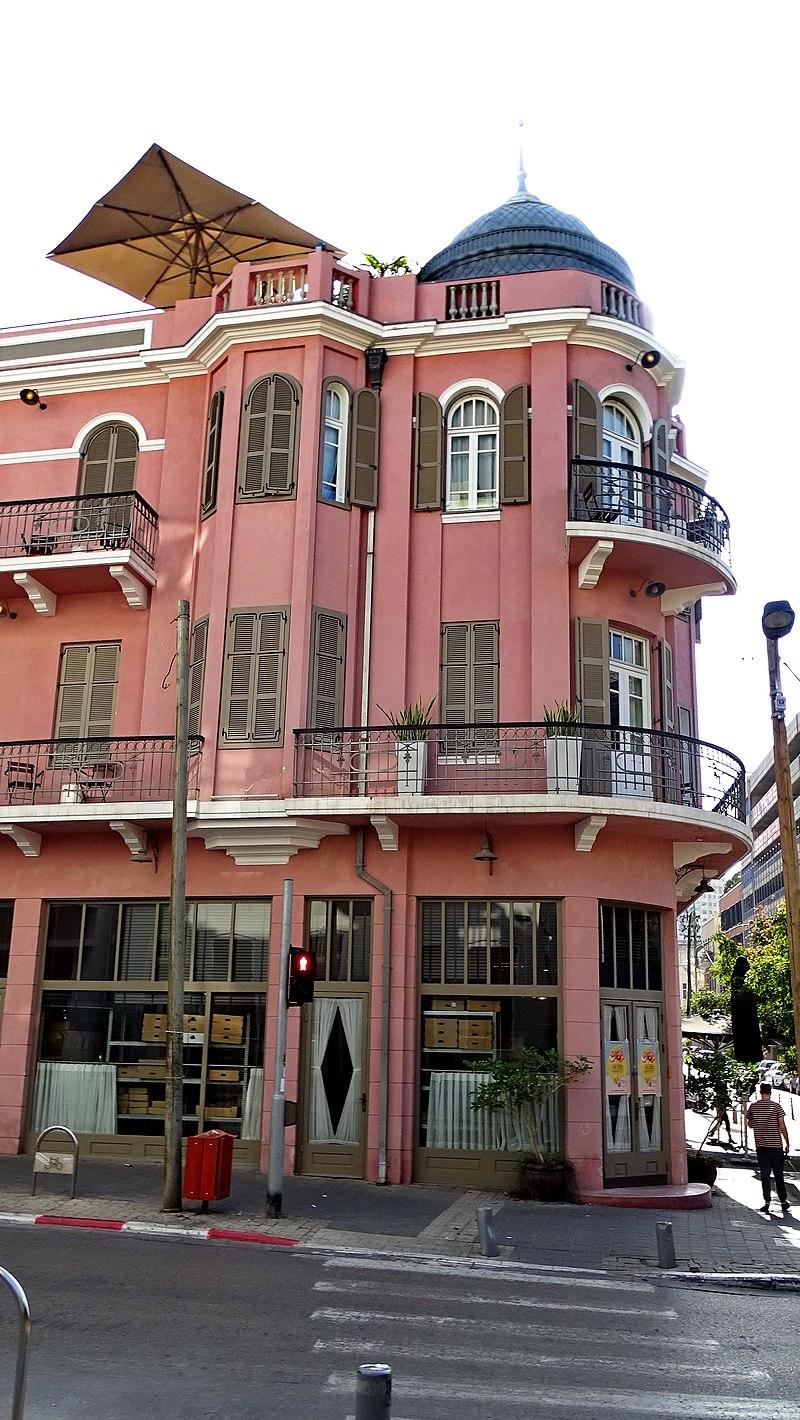 מלון נורדאו בתל אביב