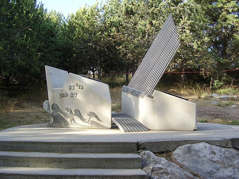 אנדרטת גדוד 88 - דב לבן