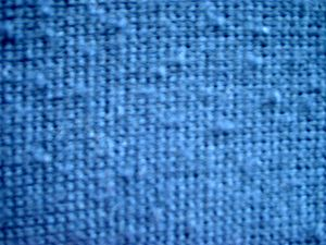 Pill (textile) - Pills on a knit fabric