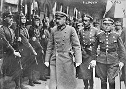 Józef Piłsudski, Mińsk 1919