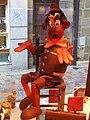 Pinocchio en chocolat, chocolatier Eric Lamy, Brive-la-Gaillarde, France.JPG