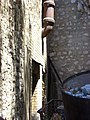 Pipe leading out of building, Haynes Cave Battery.jpg