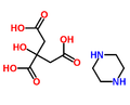 Piperazine citrate.png