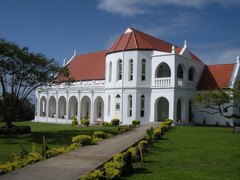 Piula Theological College, Upolu island, Samoa, 2009