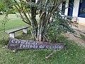 """Placa com os dizeres """"Casarão da Fazenda do Centro"""".jpg"""