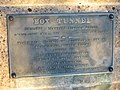 Plaque to commemorate the restoration of Box Tunnel - geograph.org.uk - 558921.jpg