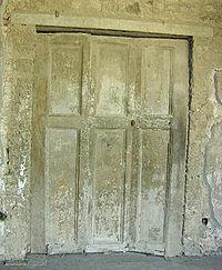 Roman folding doors at Pompeii (1st century AD).