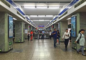 Platform for L2 at Xuanwumen Station (20160518093850).jpg