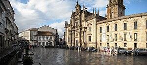 Celanova - Mayor Square, in Celanova.