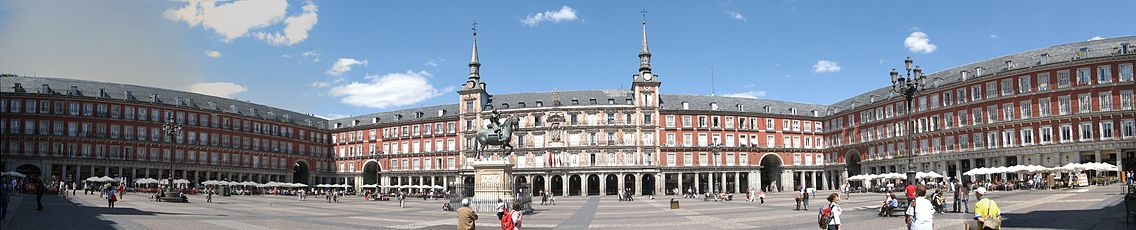 Three sides of the Plaza Mayor