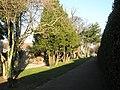 Pleasant walkway at Drayton Park - geograph.org.uk - 730170.jpg