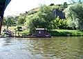 Podbabský přívoz, přístaviště Podbaba, z vody.jpg