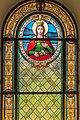 Poertschach Pfarrkirche hl Johannes d T Fuchs-Glasfenster Kluch 19082015 6781.jpg