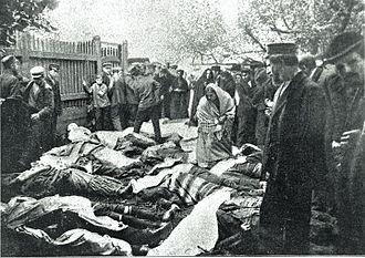 Białystok pogrom - Jewish people killed during 14–16 June 1906 Białystok pogrom