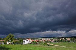 Pohled na obec od jihovýchodu, Bedřichov, okres Blansko.jpg