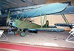 Polikarpov U-2 Trainer ADDITIONAL INFORMATION- From the beginning, the U-2 became the basic Soviet civil and military trainer aircraft, mass-produced in a Red Flyer factory near Moscow. It was also (18203554300).jpg