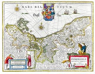 Pomeranian War fighting between Sweden and Prussia between 1757 and 1762