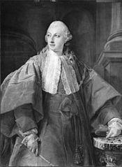Portrait of Prince Abbondio Rezzonico as Senator of Rome